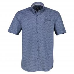 Halbarm Button-Down-Hemd