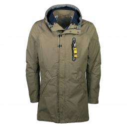 Outdoorparka in trendiger Nylonoptik