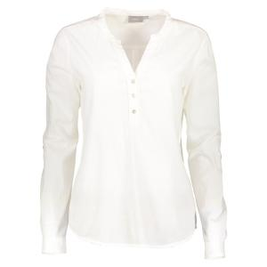 b.young Langarmshirt 'Giva' OPTICAL WHITE | 40