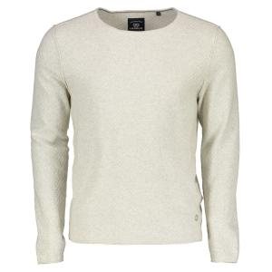Longsleeve in Struktur-Strick ANTIQUE WHITE | XXL