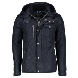 Steppjacke mit Kapuze NIGHT BLUE | L
