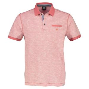 Poloshirt in Melange ORANGE | 3XL