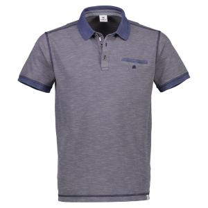 Polo in Two-Tone-Qualität VINTAGE BLUE | L