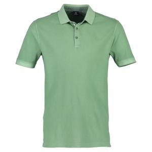 Halbarm Polo im Used-Look APPLE | XL