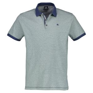 Halbarm Polo-Shirt in Streifenoptik APPLE | L