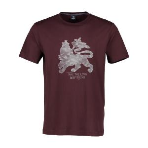 T-Shirt mit Löwenprint RED | 3XL