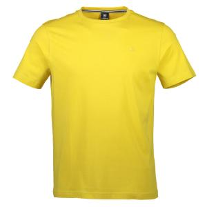 Klassisches Basic T-Shirt YELLOW | XL
