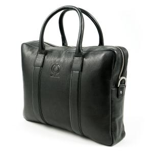 Office Bag aus feinstem Leder BLACK | PCK