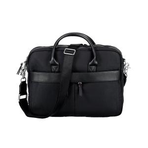 Office Bag mit Kunstlederapplikationen BLACK | PCK