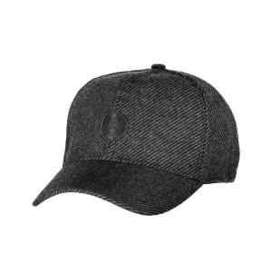 Baseball Cap in Wolloptik BLACK | PCK