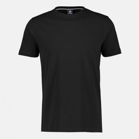 Rundhals T-Shirt BLACK | L