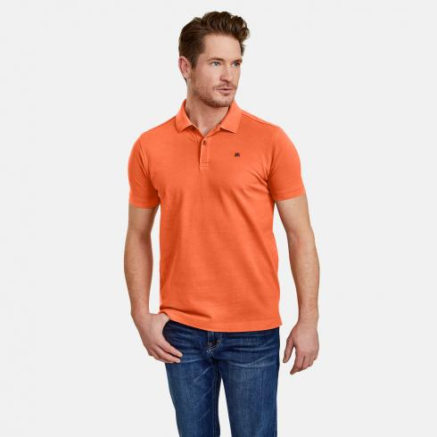 Pique Poloshirt STRONG ORANGE | XXXL