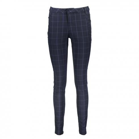 "DRANELLA Hose ""Feana""/Fashion Fit BLUE CHECK 