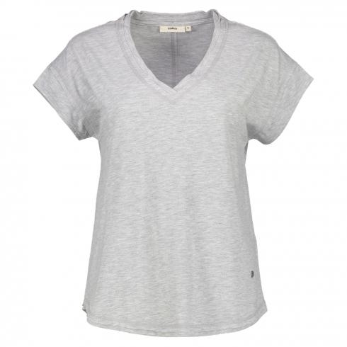 DRANELLA T-Shirt 'Gorsi' LIGHT GREY MEL | S