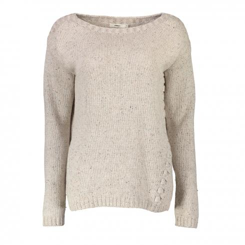 DRANELLA Pullover 'Isaurah' SAND MIX | S