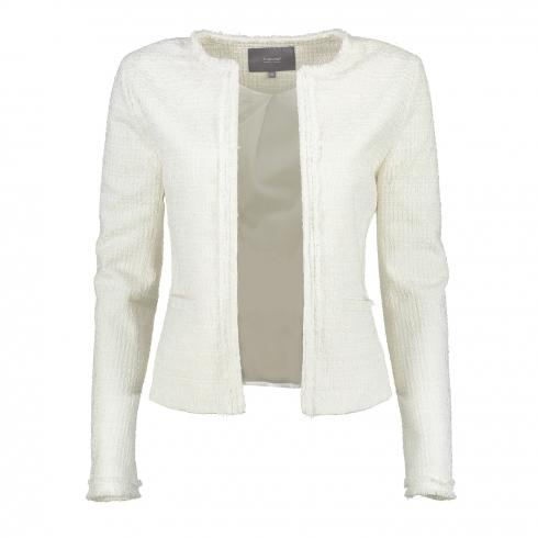 Bouclé-Jacke 'Angelic' OFF WHITE | 36