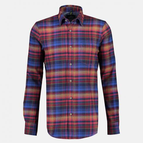Karohemd *Flanell-Check* RED | L
