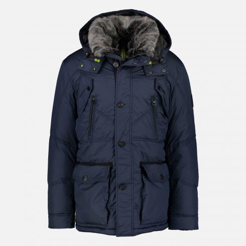 Parka, Two-Tone NIGHT BLUE | S