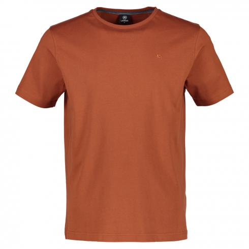 Klassisches Basic T-Shirt SOFT COPPER | M
