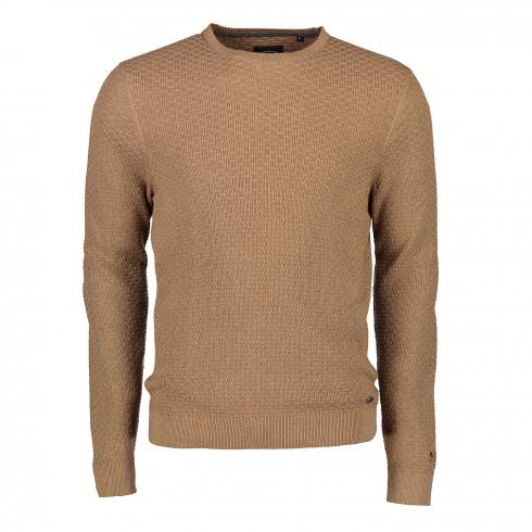 Strick-Sweater COGNAC | 3XL