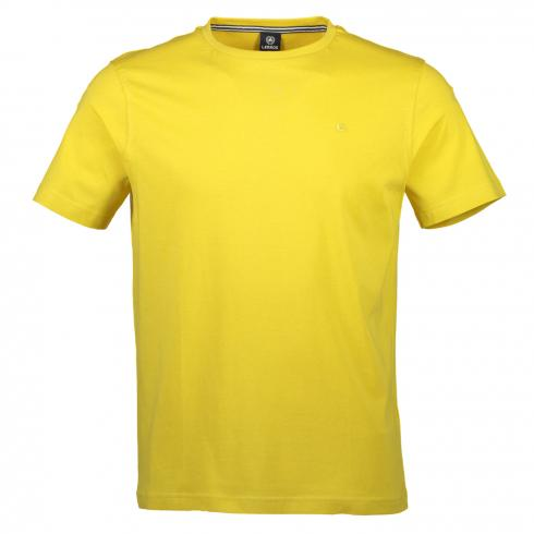 Klassisches Basic T-Shirt YELLOW | XXL