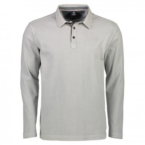 Rugby-Polo in Jersey Qualität LIGHT GREY | M