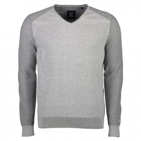 V-Neck Sweater aus Baumwolle