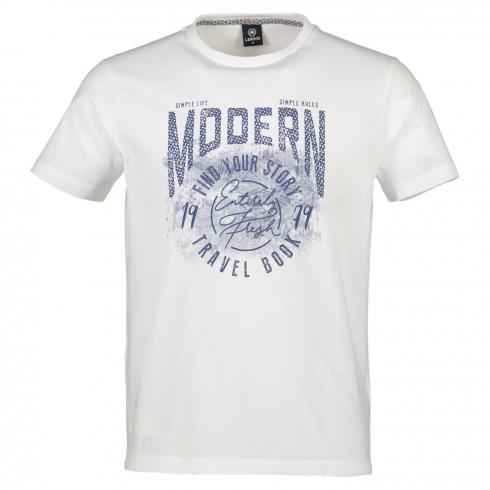 T-Shirt mit Brustprint 'Modern'