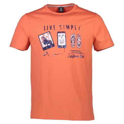 T-Shirt 'Live Simply'