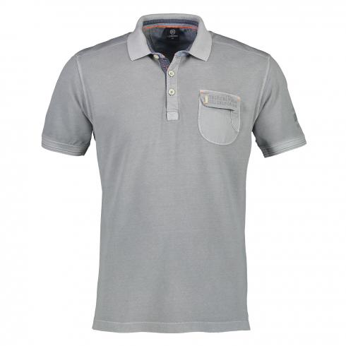 Kurzarm Polo im Used-Look