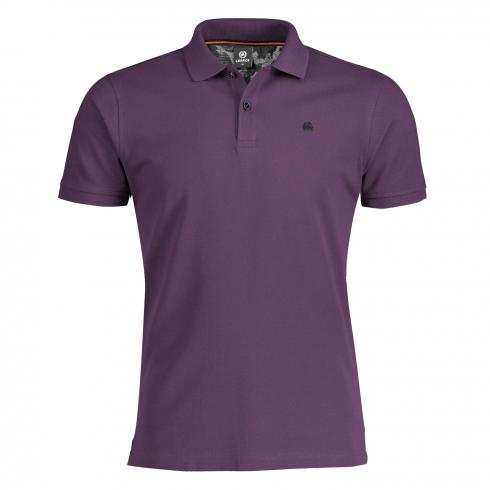 Klassisches Poloshirt AUTUMN GRAPE | M