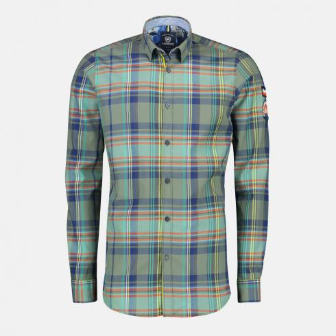 Multicolour-Check Hemd REED GREEN | S