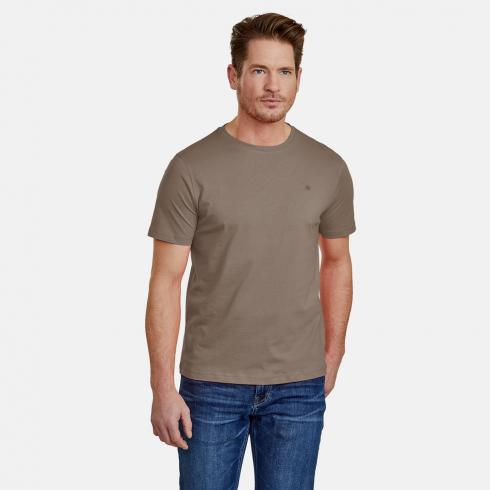 Klassisches T-Shirt SOIL BROWN | XXL