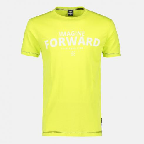 Printshirt 'Imagine Forward' WILD LIME | S