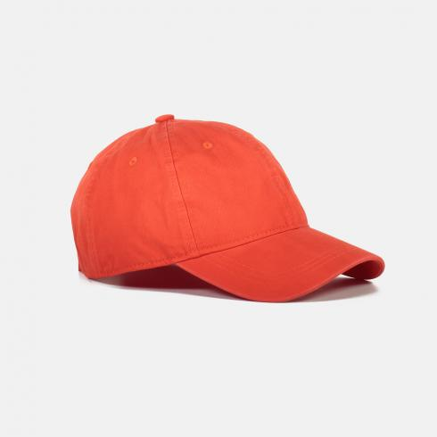 Cap mit Fischgratstruktur HOT RED | PCK