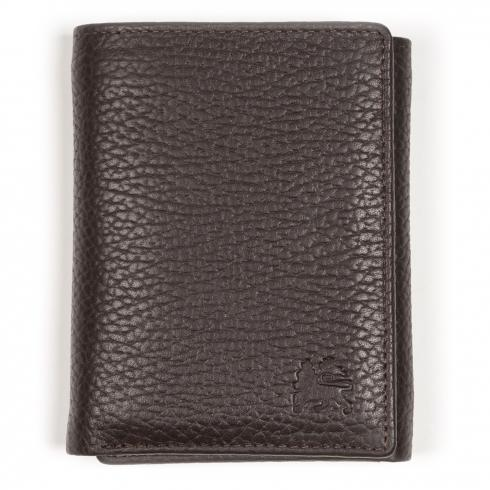 Falt-Portemonnaie DARK BROWN | PCK