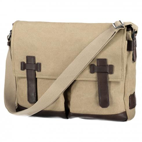 Messenger Bag aus Canvas SAND | PCK