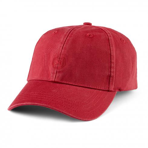 Klassische Basecap HIBISCUS RED | PCK