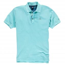 Poloshirt in Used-Optik