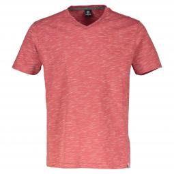 V-Neck in Melange