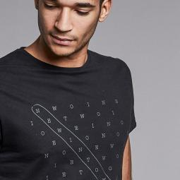 T-Shirt 'Crosswords'